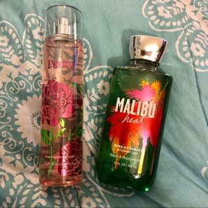 Bath & Body Works Shower Gel & Body Spray Bundle